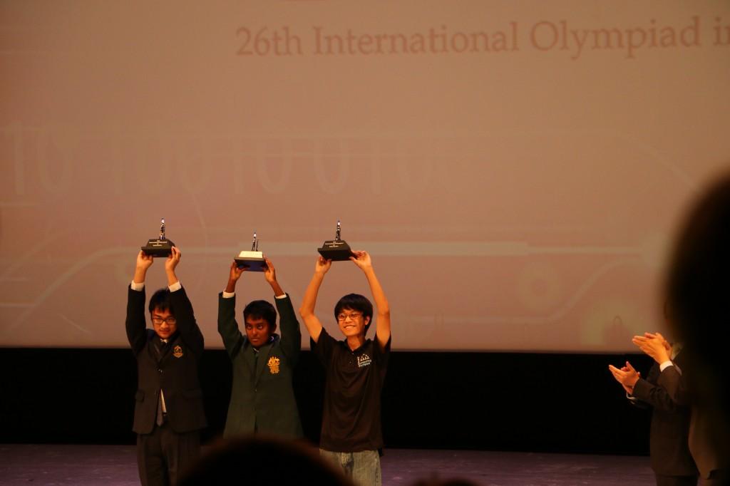 Die Gewinner der IOI 2014